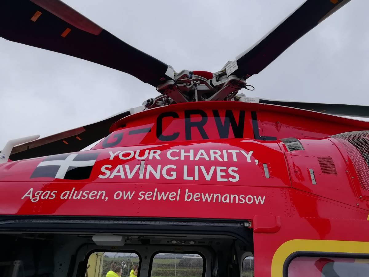 Cornwall Air Ambulance Crew